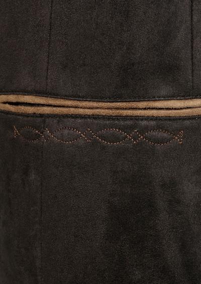 OS-TRACHTEN Trachtensakko mit Stehkragen in schwarz, Produktansicht