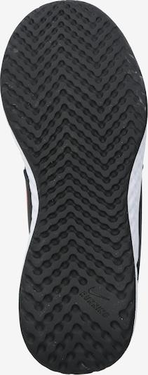 NIKE Športni čevelj | rosé / črna barva: Pogled od spodaj