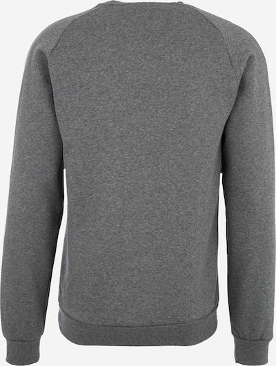 ADIDAS PERFORMANCE Sweatshirt 'CORE18 TOP' in anthrazit / graumeliert: Rückansicht