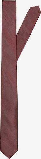 SELECTED HOMME Cravate en rouge rouille, Vue avec produit