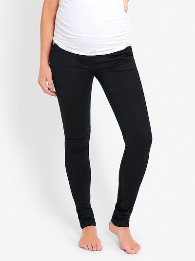JoJo Maman Bébé Jeans in de kleur Zwart: Vooraanzicht
