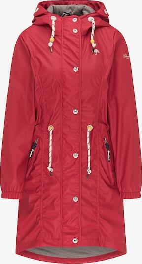 Schmuddelwedda Winterparka in de kleur Rood, Productweergave