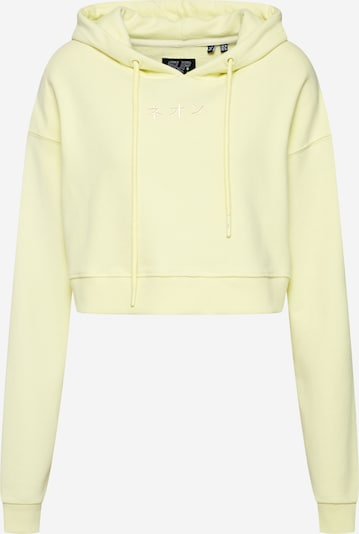 Superdry Sweat-shirt en jaune clair, Vue avec produit