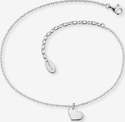 Engelsrufer Fußkette 'Erf-Lilheart' in silber, Produktansicht