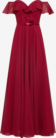 mascara Kleid 'FRILLED' in weinrot, Produktansicht