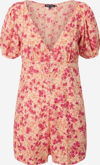 Motel Jumpsuit 'MORA' in de kleur Sinaasappel / Perzik / Pink, Productweergave