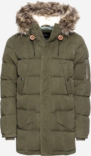 Pepe Jeans Zimní bunda 'WOODLANDS' - olivová, Produkt