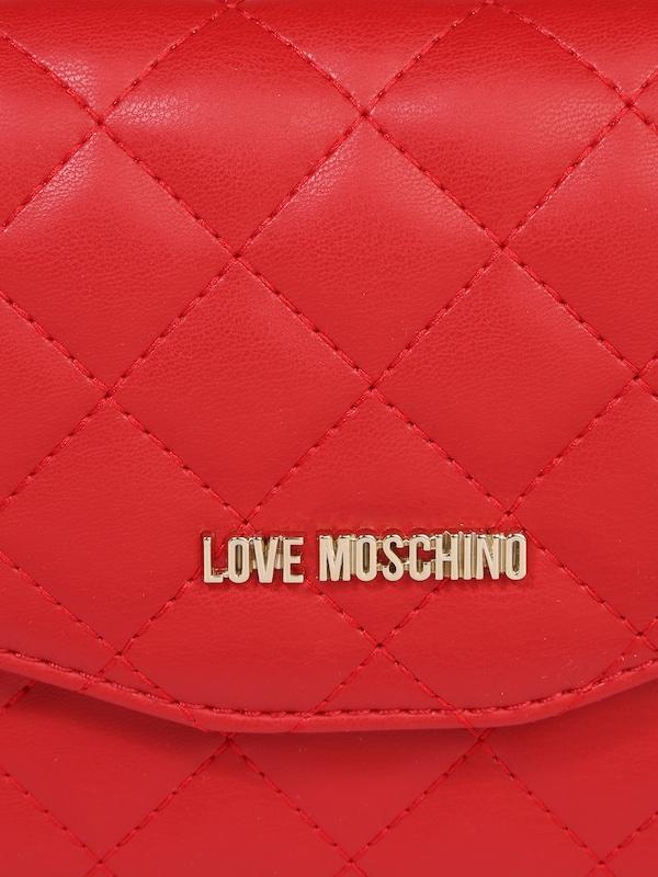 Love Moschino Umhängetasche mit Rautensteppung