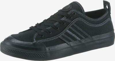 DIESEL Zemie brīvā laika apavi 'S-Astico low lace', krāsa - melns, Preces skats