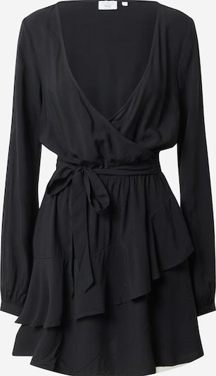 Rochie tip bluză NA-KD pe negru, Vizualizare produs