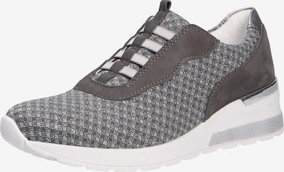 WALDLÄUFER Sneaker in silbergrau / dunkelgrau / graumeliert, Produktansicht