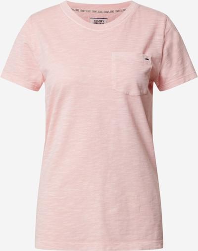 Tommy Jeans T-shirt 'TJW SUMMER SLUB TEE' en rose, Vue avec produit