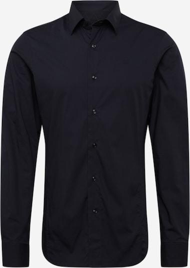 G-Star RAW Košile - černá: Pohled zepředu