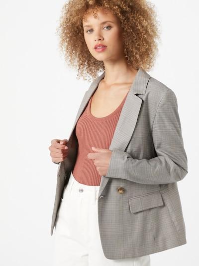 MORE & MORE Blazer 'Glencheck' in grau / mischfarben, Modelansicht