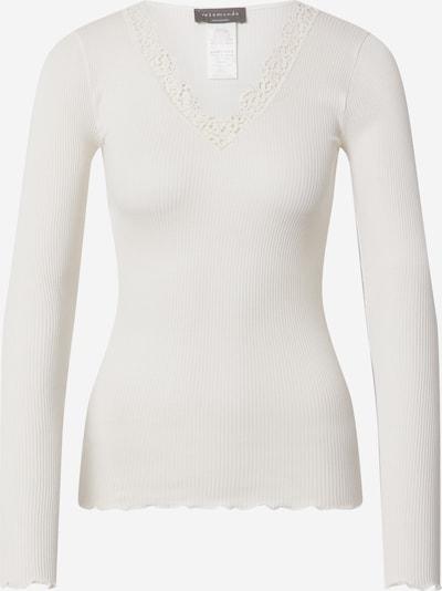 Tricou rosemunde pe alb, Vizualizare produs