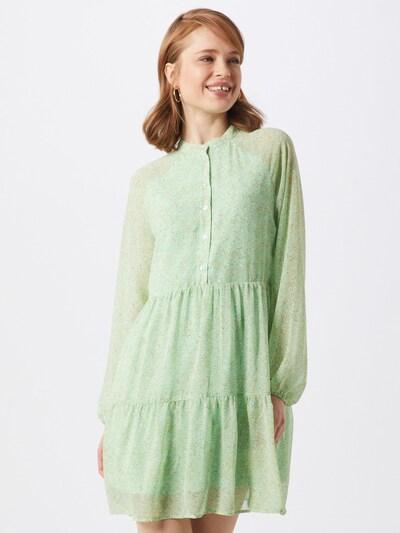 ONLY Kleid 'Liza Ditzy' in mint / weiß, Modelansicht