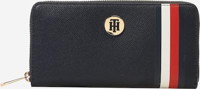 Portofel 'HONEY LRG ZA CORP' TOMMY HILFIGER pe albastru închis / roșu / alb, Vizualizare produs