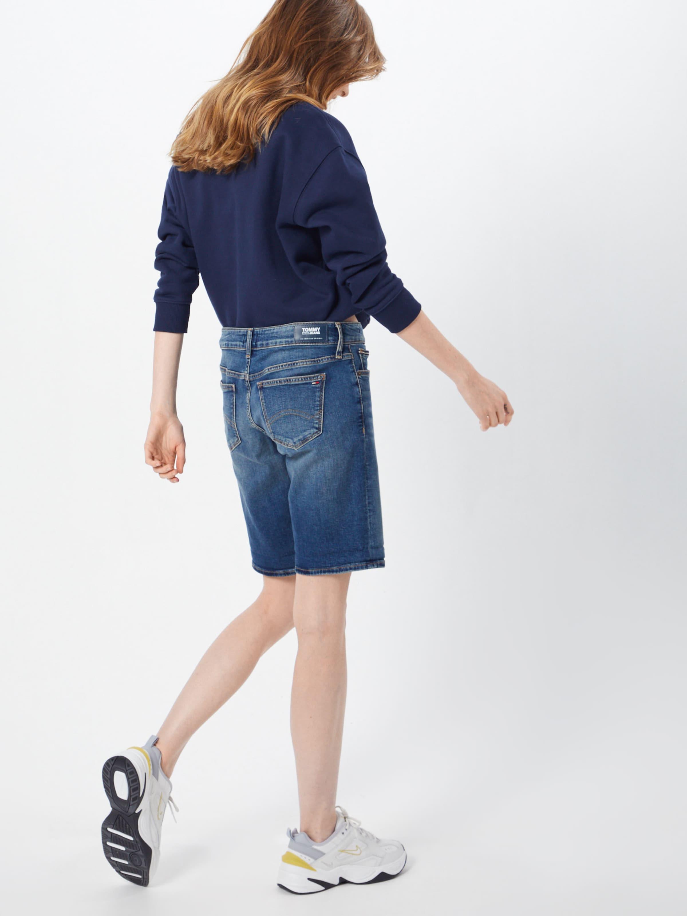 Jeans Denim Shorts Longer Blue 'classic Short' Tommy In QthrCsdx