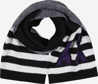 ARMANI EXCHANGE Schal in schwarz / weiß, Produktansicht