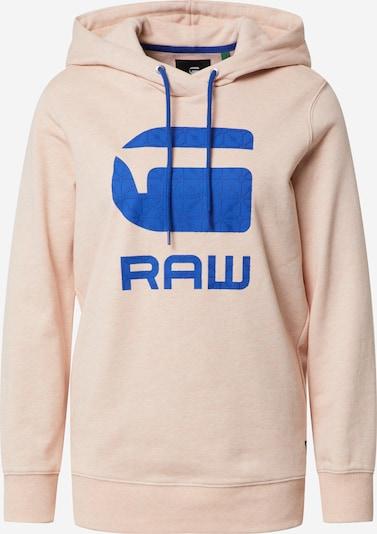 G-Star RAW Sweatshirt 'Boyfriend' in blau / lachs, Produktansicht