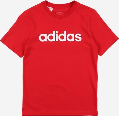 ADIDAS PERFORMANCE Sportshirt 'YB E LIN TEE' in rot, Produktansicht