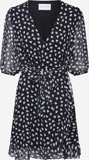 THE KOOPLES SPORT Kleid 'ROBE' in schwarz / weiß, Produktansicht