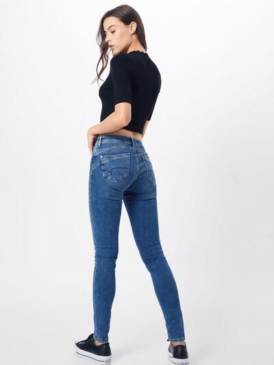 Mavi Jeans 'Adriana' in blue denim: Rückansicht