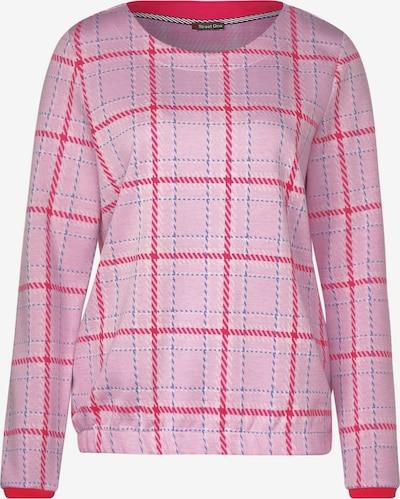 STREET ONE Shirt mit Multicolour Karo in blau / pink / rosa, Produktansicht