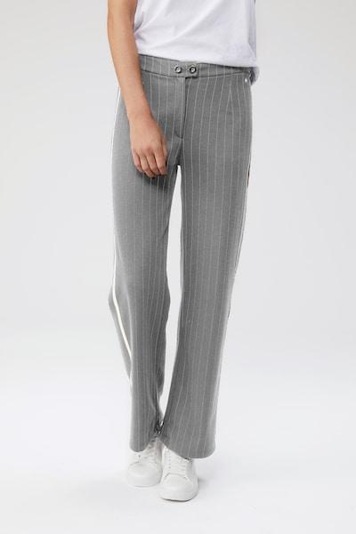 LeGer by Lena Gercke Hlače 'Cora' | pegasto siva barva, Prikaz modela