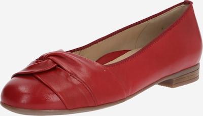 ARA Ballerines 'Glovekid' en rouge, Vue avec produit