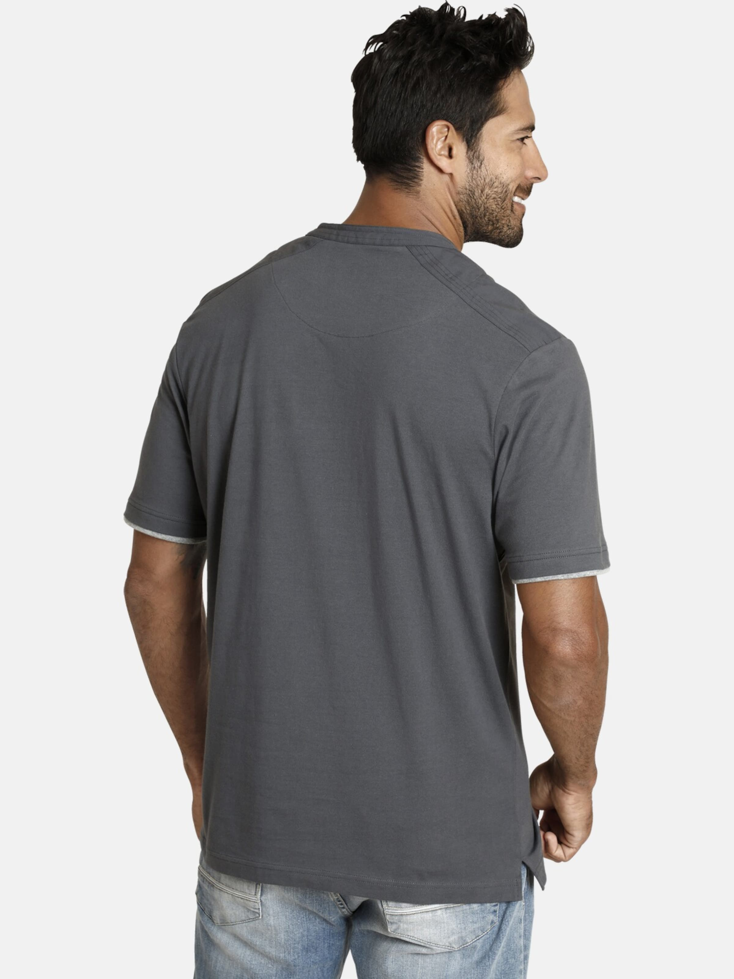 Jan In shirt Vanderstorm 'nante' T Dunkelgrau srxBQCtohd
