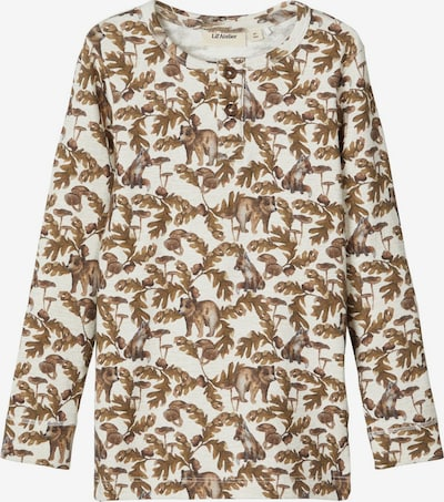 NAME IT Shirt in beige / braun, Produktansicht