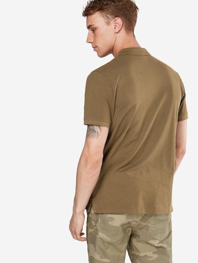 JACK & JONES Poloshirt 'JJEBASIC POLO SS' in oliv: Rückansicht