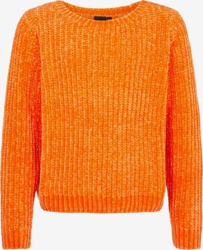 LMTD Strickpullover in mandarine: Frontalansicht