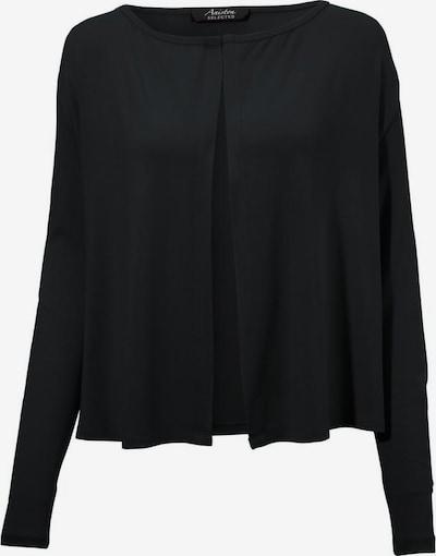 Aniston SELECTED Strickjacke in schwarz, Produktansicht