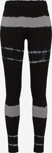 Urban Classics Leggings in hellgrau / schwarz, Produktansicht