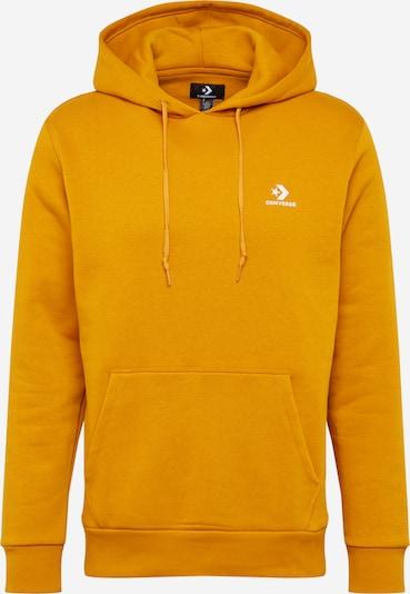 CONVERSE Sweatshirt in gelb / weiß, Produktansicht