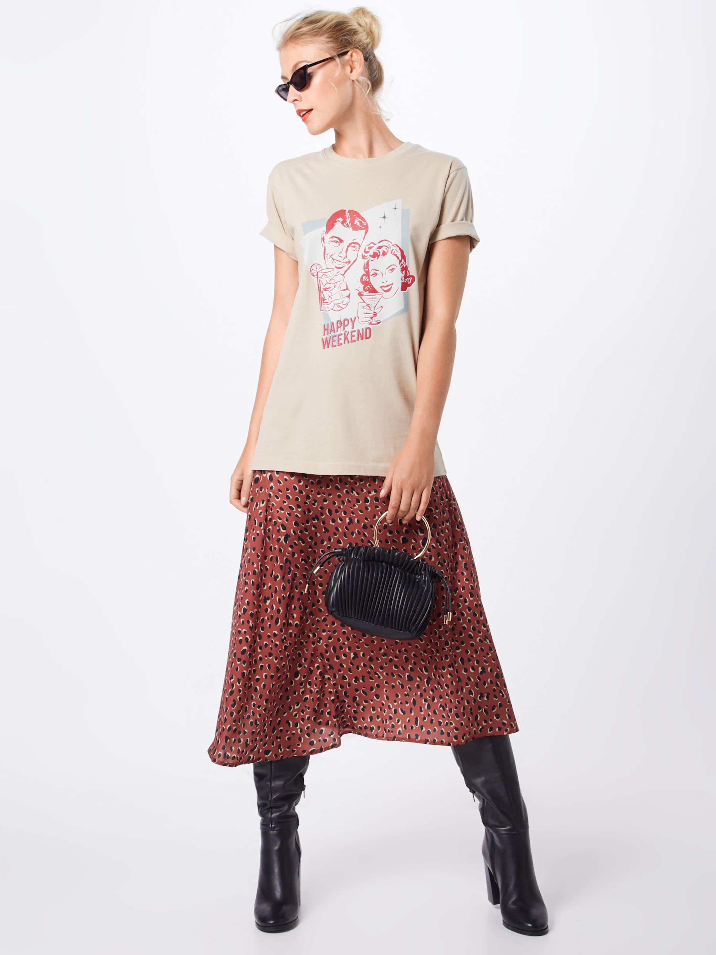 SandMischfarben Tee' Shirt Happy In Merchcode 'ladies Weekend OkwuXTliPZ