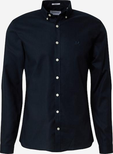 Lindbergh Hemd 'Oxford' in dunkelblau, Produktansicht