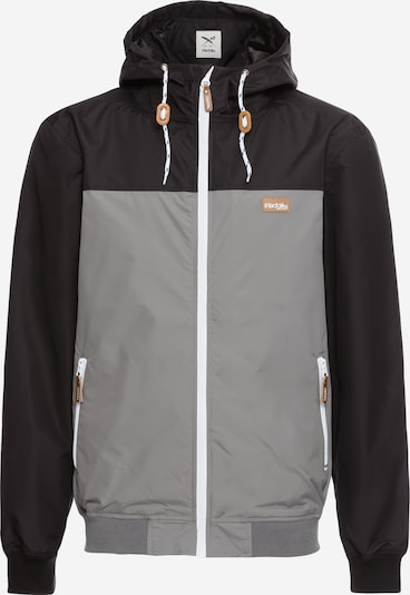 Iriedaily Jacke 'Auf Deck' in dunkelgrau / schwarz, Produktansicht
