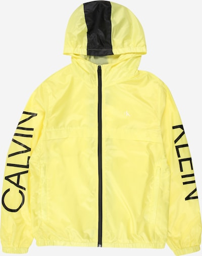 Calvin Klein Jeans Jacke 'Packable Hero' in gelb / schwarz, Produktansicht