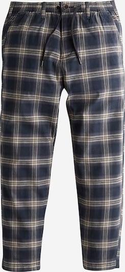 HOLLISTER Pantalon 'PULLON CROP' en beige / bleu marine, Vue avec produit