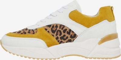 Bianco Sneakers in gelb / weiß, Produktansicht