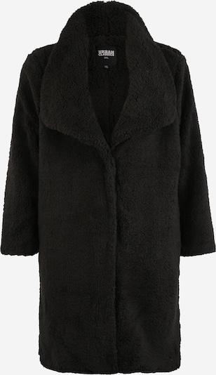 Urban Classics Mantel 'Ladies Soft Sherpa Coat' in schwarz, Produktansicht