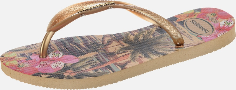 Haltbare Mode billige Schuhe HAVAIANAS | Zehensandalen 'SLIM TROPICAL' TROPICAL' TROPICAL' Schuhe Gut getragene Schuhe 15a210