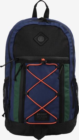ELEMENT Sac à dos 'Cypress Outward' en bleu marine / vert / noir, Vue avec produit