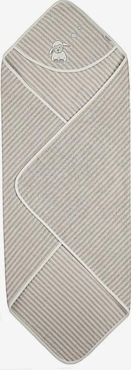STERNTALER Badetuch 'Stanley' in beige / grau, Produktansicht