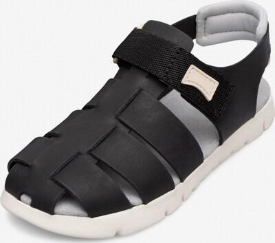 CAMPER Sandale 'Oruga' in schwarz / weiß, Produktansicht