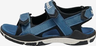 Hummel Sandalen 'TREKKING' in blau / schwarz, Produktansicht