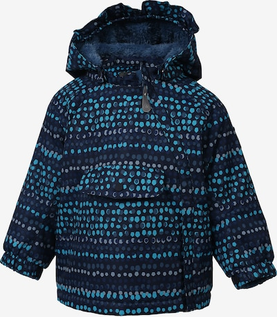 COLOR KIDS Skijacke 'Raidoni' in navy / grau / jade, Produktansicht